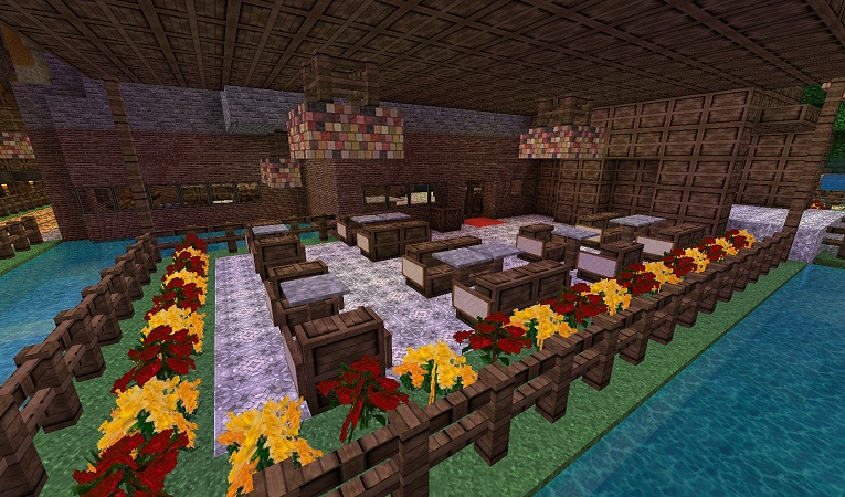 Minecraft Monday: Restaurant