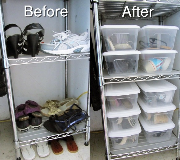 Room Organization: Shoes