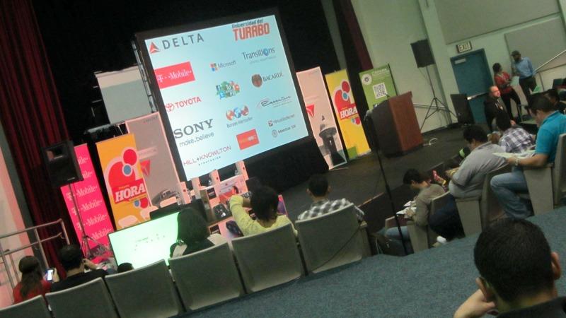 Puerto Rico BloggerCon: Stage