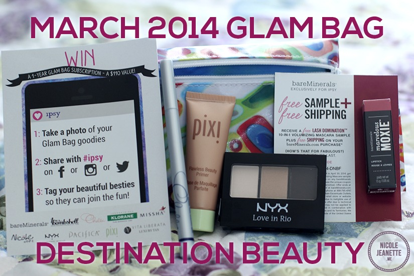 Ipsy March 2014 Glam Bag