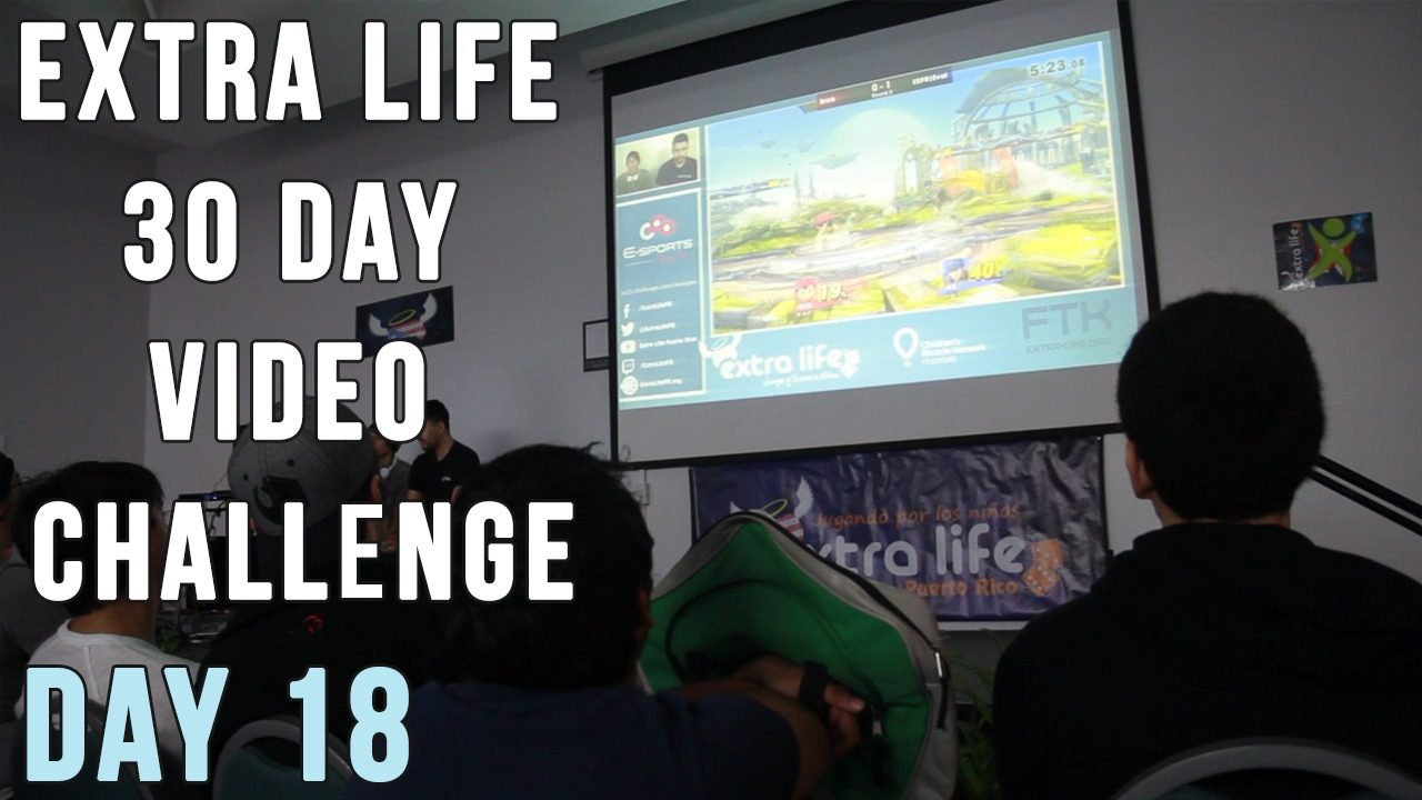 Extra Life 30 Day Video Challenge – Day 18 – Aftershock 2015