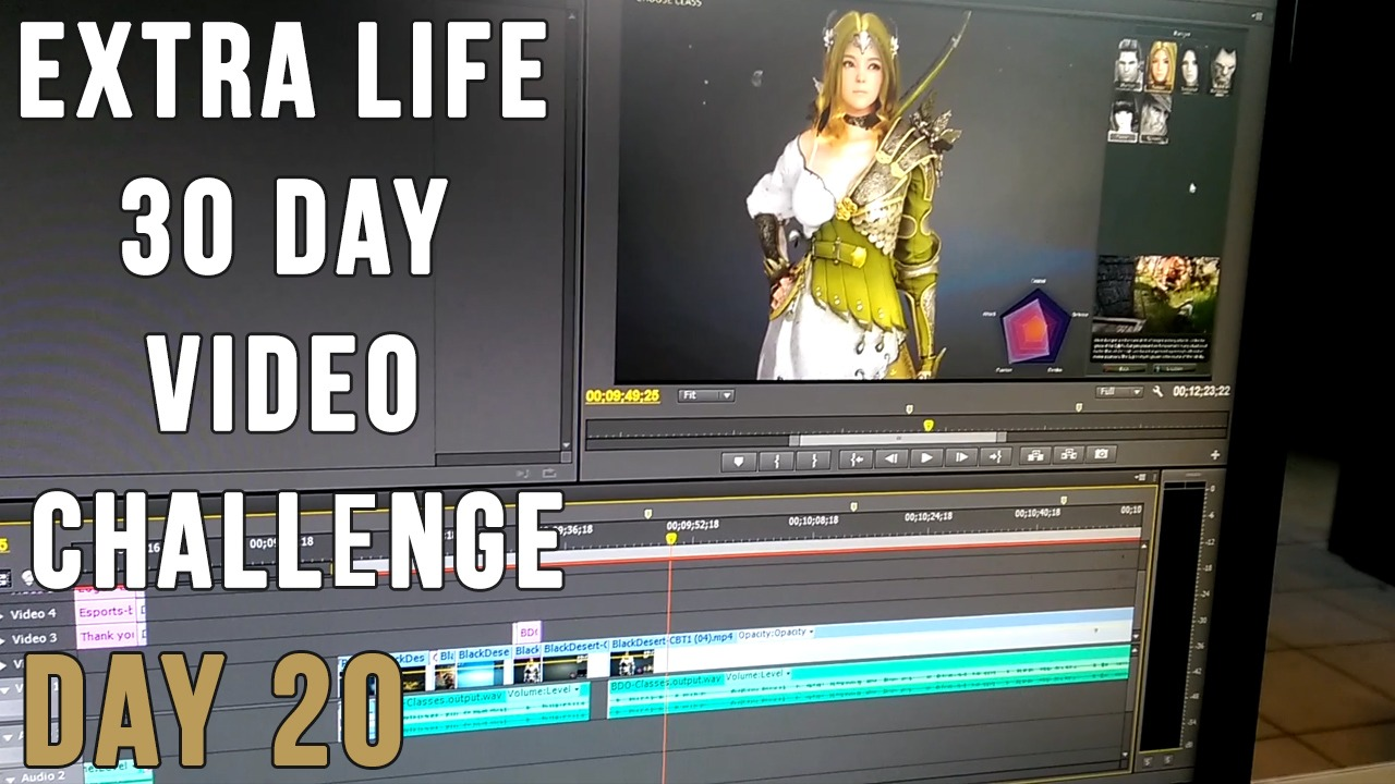 Extra Life 30 Day Video Challenge – Day 20