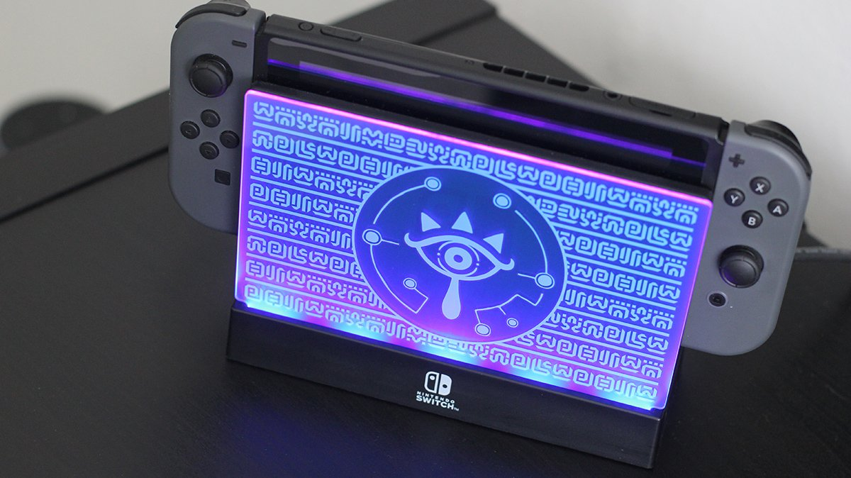 Nintendo Switch Light Up Dock Shield