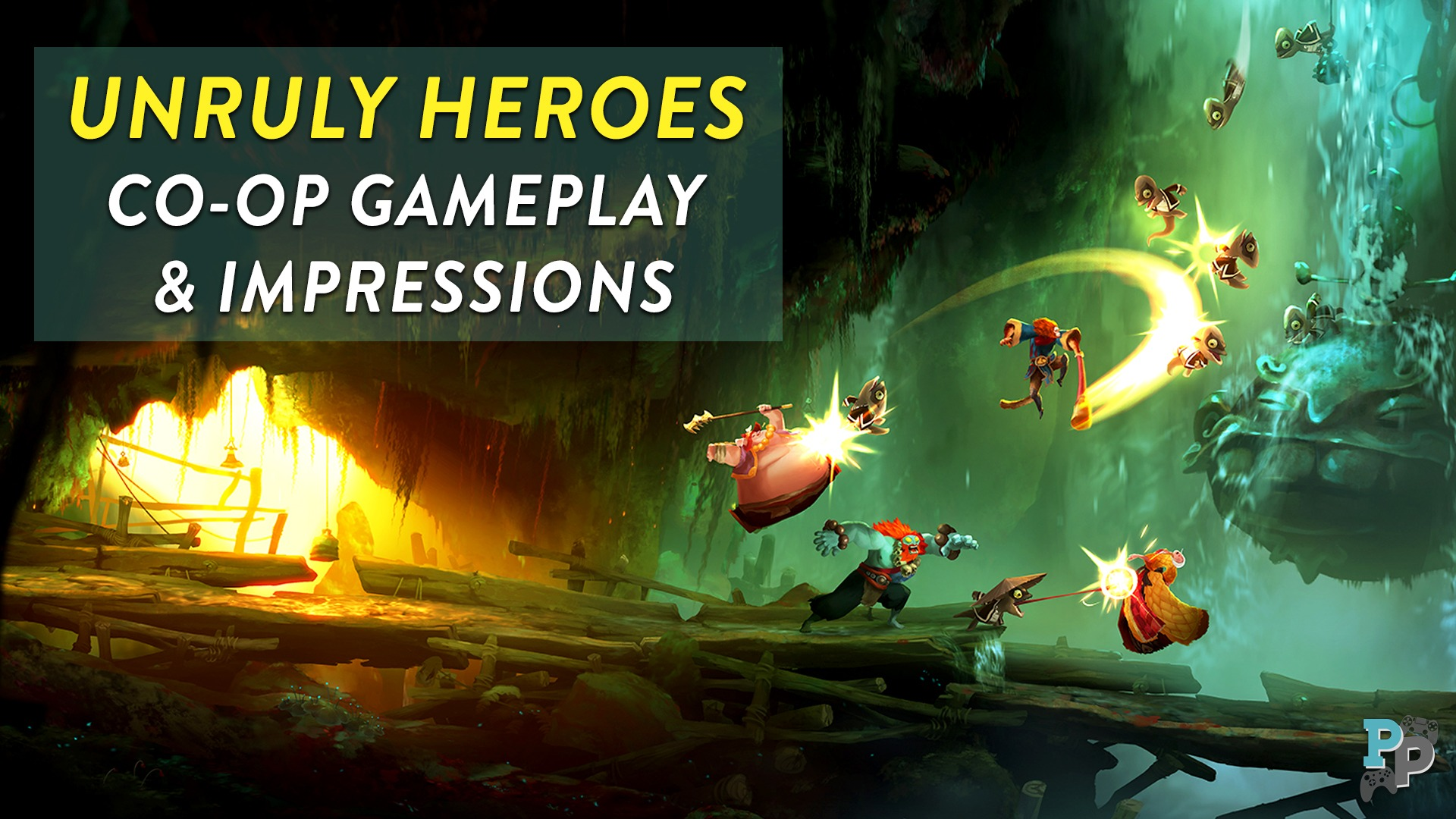 Unruly Heroes: Great Co-op Game
