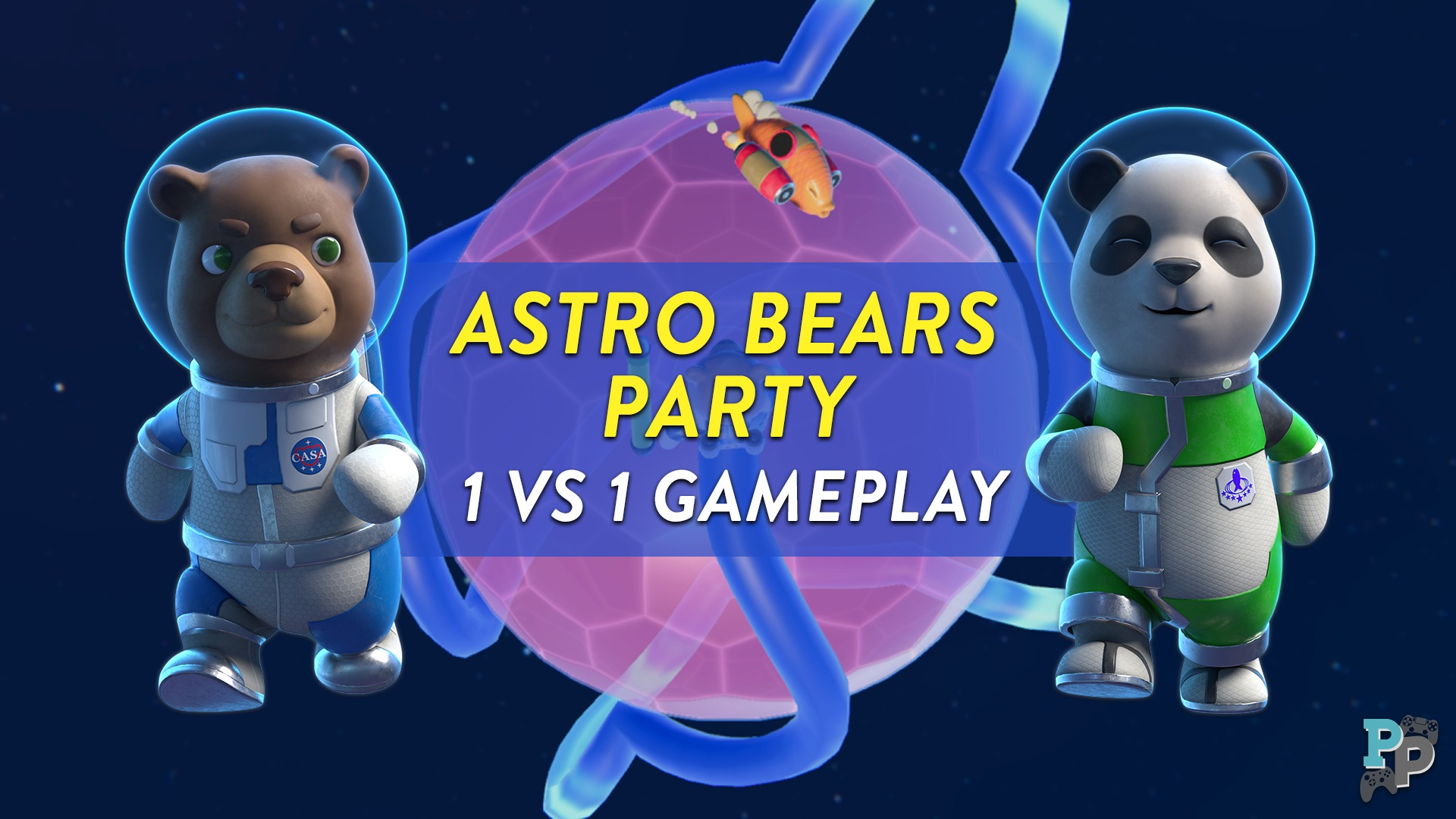 Astro Bears Party: Fun Snake-like game