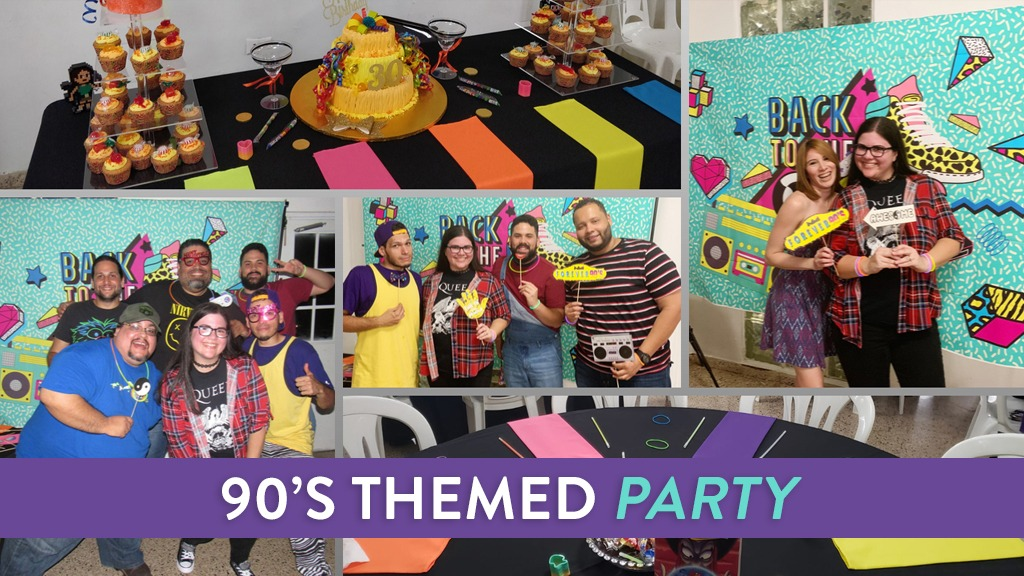 90s Themed Party